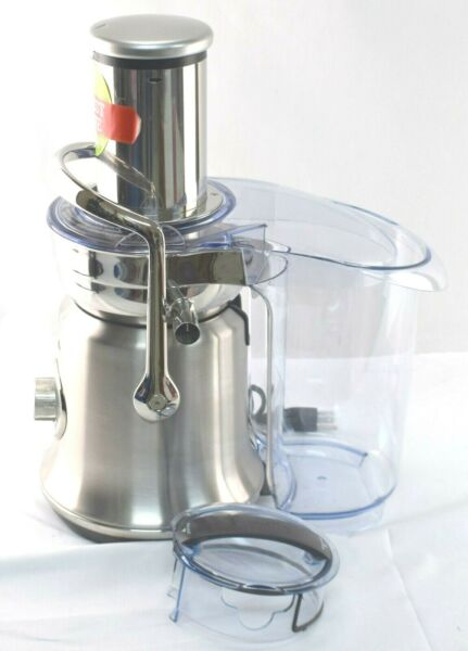 *READ Breville BJE830 The Juice Fountain Cold XL Juicer Brushed Stainless Steel