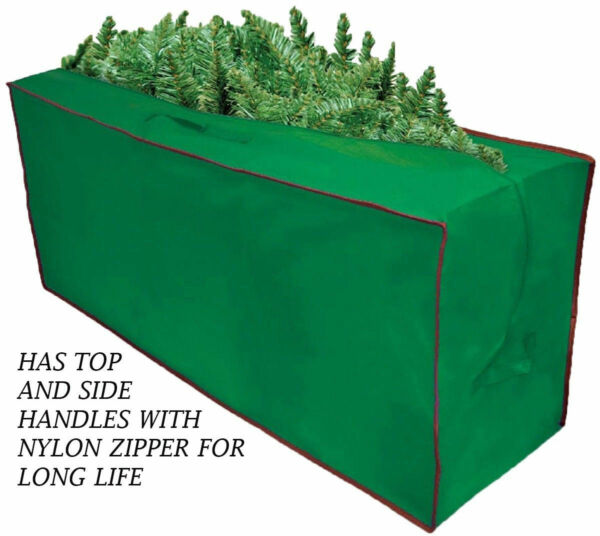 Nylon Christmas Tree Storage Bag Fits Up To 8#x27; Artificial Tree with Handles.