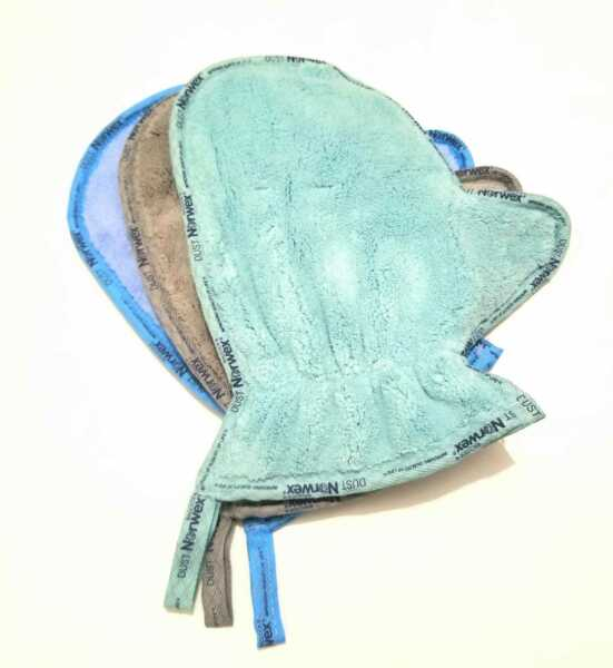 Norwex Microfiber Dusting Mitt Glove Microfiber New 3 Colors $18.62