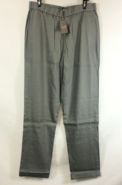 NEW J Jill Ash Easy Linen Stretch Pants S Tall $19.95