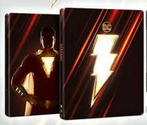 Shazam 2019 Limited Edition SteelBook 4K HDBlu ray