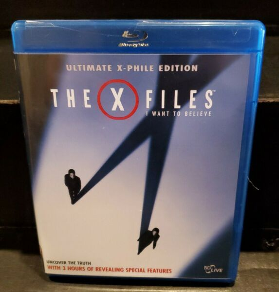 The X FILES I WANT to BELIEVE 2008 Blu ray Two Disc Ultimate X Phile Edition