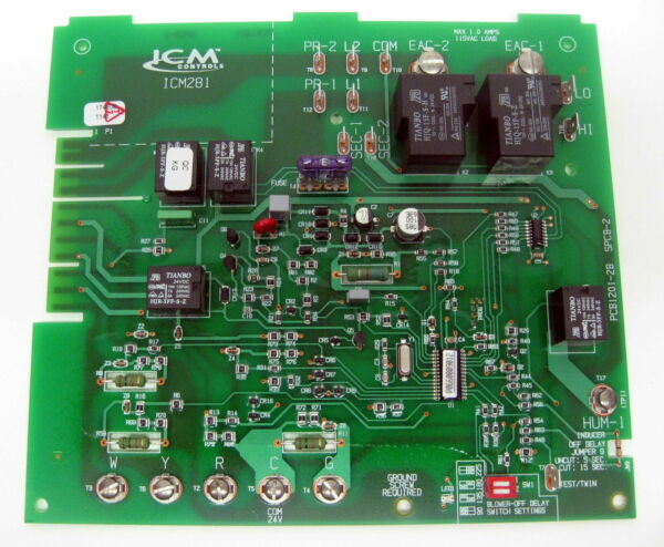 ICM Furnace Speed Control Board ICM281 for Carrier CES0110057 01 CES0110057 02 $132.99