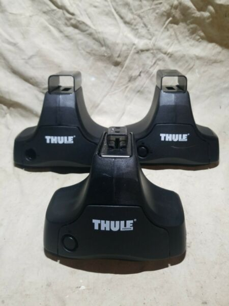 Thule Rack System 480 Traverse Foot Pack Lot Of 3 USED $134.99