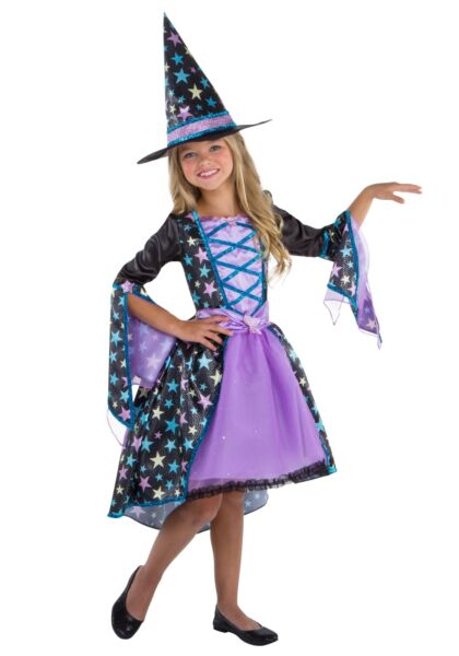 Pastel Candy Witch Costume for Girls $34.98