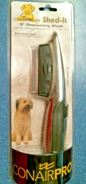Conair 27906 Pro DOG Shed It 3quot; Deshedding Comb Blade FREE SHIPPING $7.49