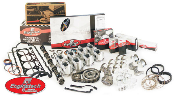 Chevy 350 Fits 5.7L V8 1987 1992 MASTER ENGINE REBUILD KIT with High Perf CAM