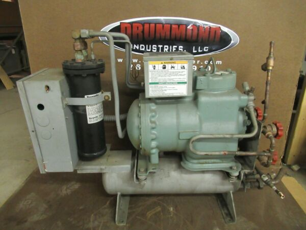 CARRIER PUMP DOWN PURGE SYSTEM 19EA46 748 9 460 VAC CARLYLE 06DM8086 300 PSI $950.00