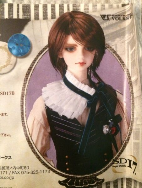 NEW Volks Designers Collection Outfit Set BJD 1 3 SD17 65cm Boy Clothing NBFP