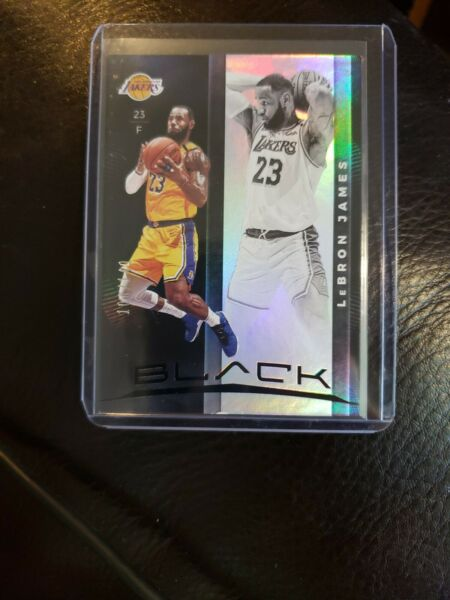 2019 20 Panini Black Box Lebron JAMES LAKERS