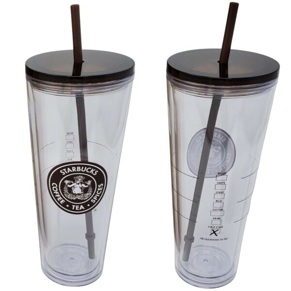 Exclusive Starbucks Coffee Pike Place Tumbler Venti 24 oz Seattle First Store