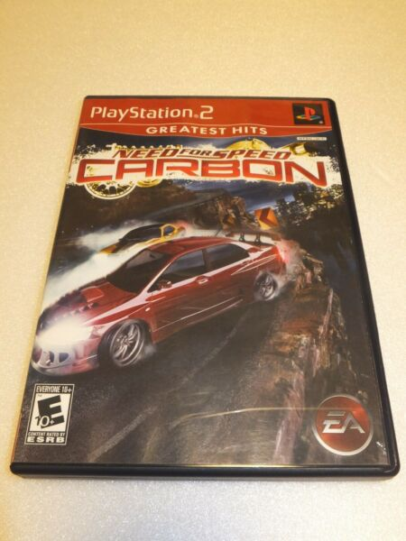 Sony PlayStation 2 quot;Need for Seed Carbonquot; Game PS2 USA VERSION $3.99