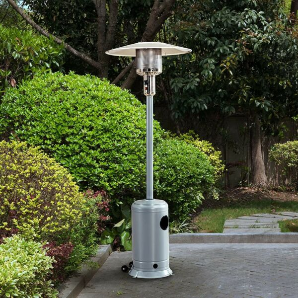 Patio Outdoor Heater Sunjoy A306006403 Avanti Heater Silver