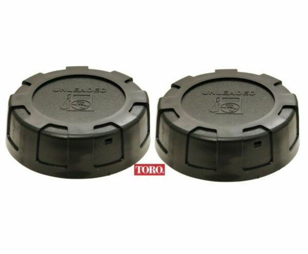 2 PACK OEM Toro Lawn Mower Fuel Gas Cap 88 3980 Commercial Z Master Time Cutter