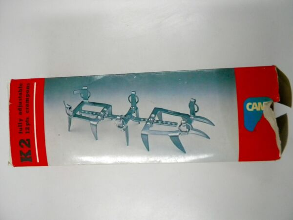 CAMP Ramponi Crampons K2 12 Point Ice Shoes Made In Italy $45.00