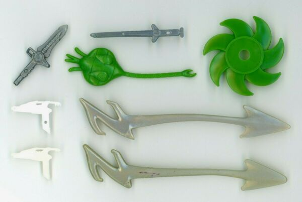Power Rangers Lot of 8 Weapons Parts Accessories MMPR Turbo Evil Space Aliens