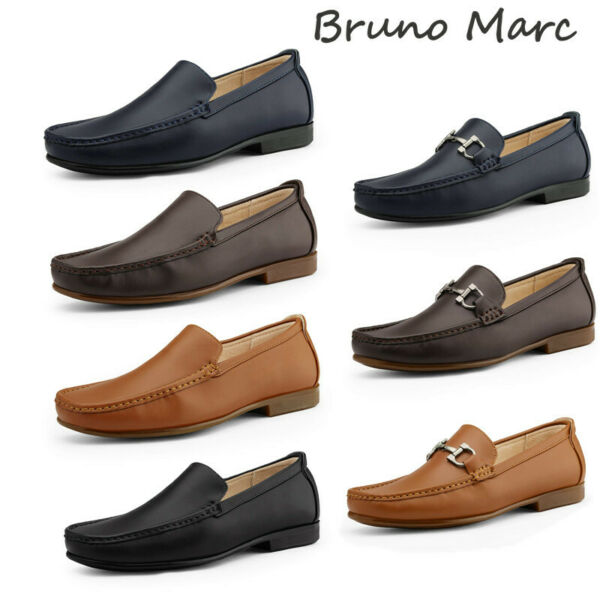 Bruno Marc Men#x27;s Penny Slip On Loafers Moccasin Casual Dress Shoes $24.43