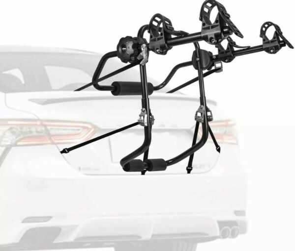 ***NIB*** AONI Car Bike Rack Trunk Carrier 1 2 Bicycle $58.98