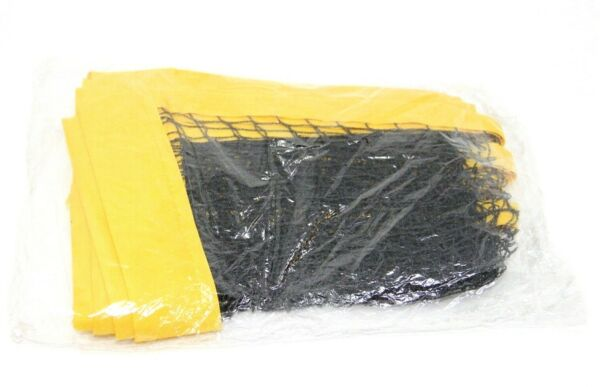 Volleyball Tennis Outdoor Replacement Net 39quot; x 12quot; Yellow Black New $15.97