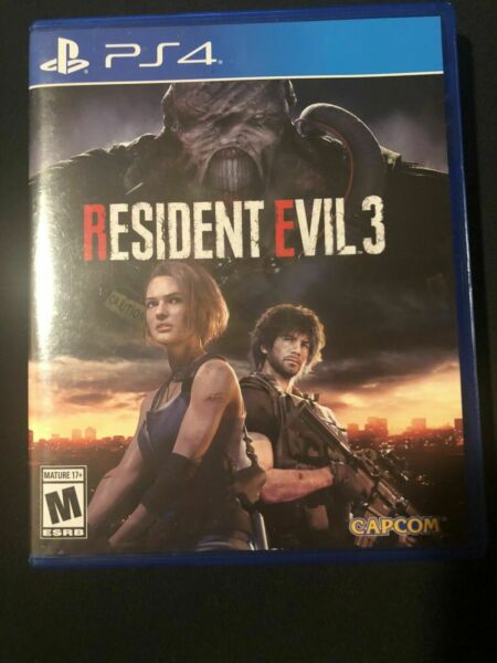 Resident Evil 3 Playstation 4 PS4 Great Condition Fast Shipping $36.00