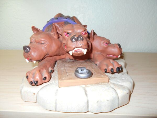 Motion Activated Harry Potter 3 headed dog Fluffy growls $12.95