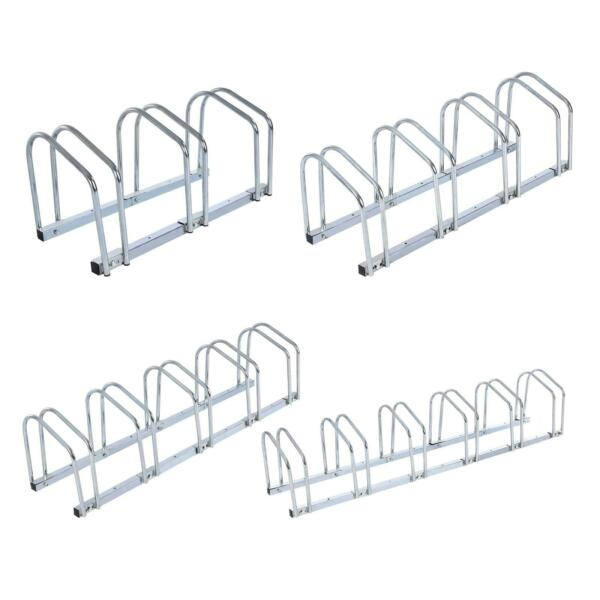 Bicycle Bike Parking Cycle Floor Rack Stand Storage Mount Holder Steel Pipe USA $35.99
