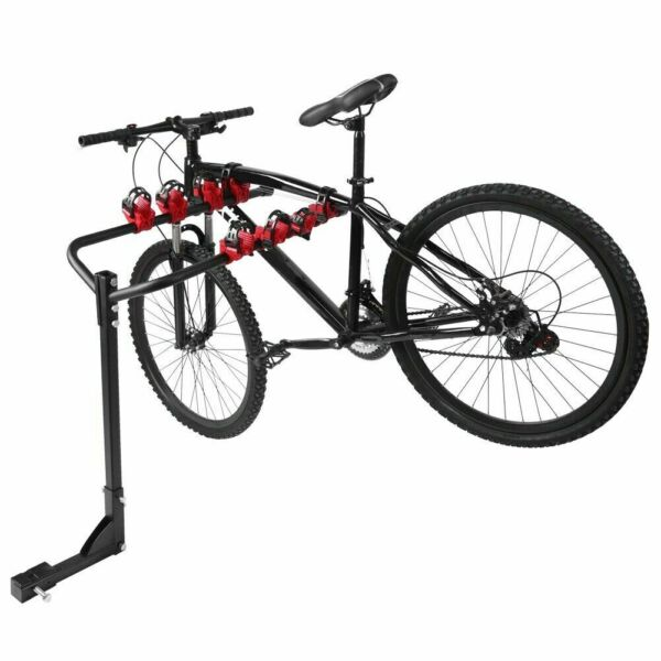 For Car SUV Truck 4 Bike Bicycle Quick Release Carrier Rack Hitch Mount Holder $46.59
