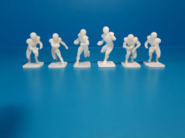 3D Printed electric football figures Running back set 1