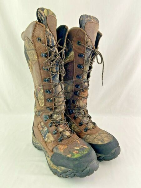 Guide Gear Pursuit II 16quot; 800G Hunting Boot Size 8 W Camo Outdoor
