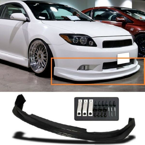 Sport Style PU Front Bumper Lip Body Kit Fits 05060710 Scion TC Only $94.99