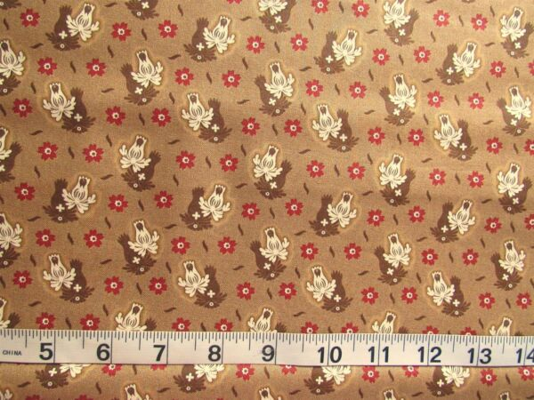 1 yd of 100% Cotton Fabric MODA quot;Collections Warmthquot; Howard Marcus