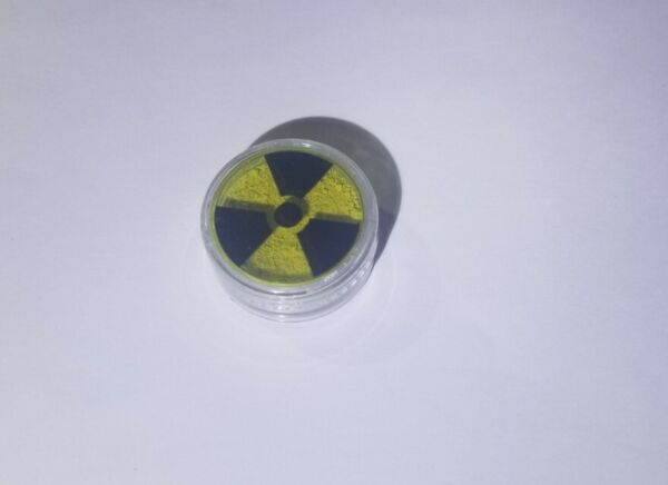 Geiger Counter Check Source 1g Monazite Thorium Ore Radioactive Test Sample