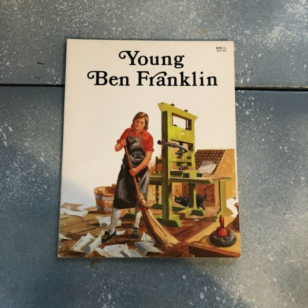 Young Ben Franklin by Laurence Santrey illustrated by John Lawn