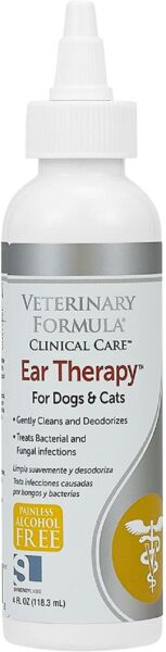 Dog And Cat Ear Drops Infection Antibiotic Treatment Medicine Yeast Fungus NEW $12.44