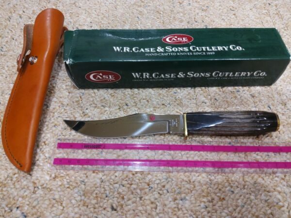 Case Knife Super Redhawk Alaskan BH81 6 Hunter Rare fixed blade
