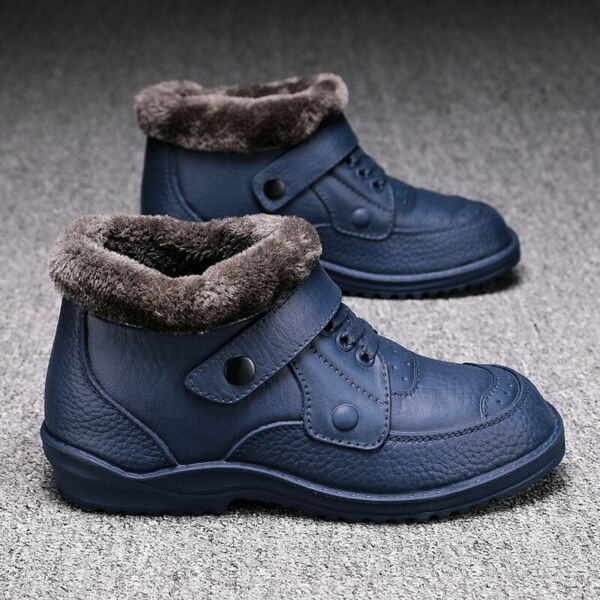 Men#x27;s Lightweight Snow Work Boots Shoes Waterproof Ankle Boots Outdoor Size US13