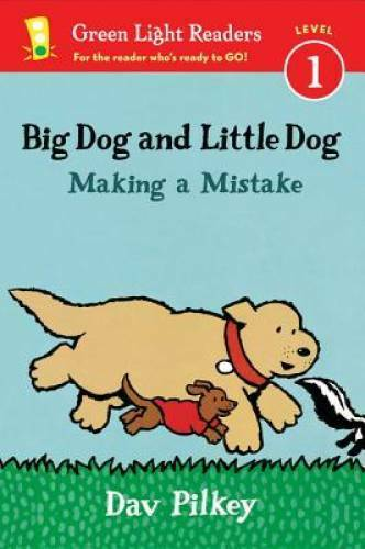 Big Dog and Little Dog Making a Mistake reader Green Light Rea ACCEPTABLE $3.98