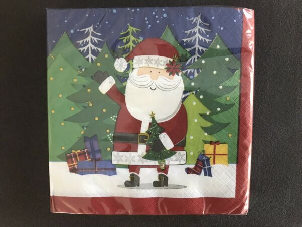 Christmas Luncheon Dinner Paper Napkins 20ct. 13x13