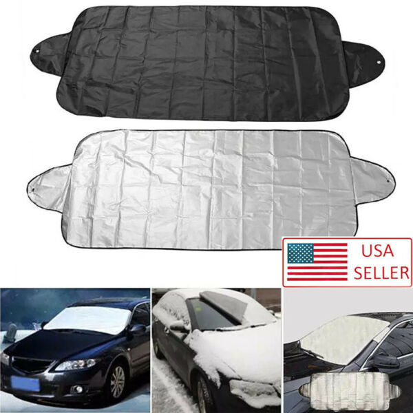 Windshield Cover Snow Ice for Car Frost Guard Winter Protector Magnetic Auto A $6.77