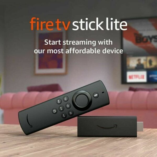 Fire TV Stick Lite with Alexa Voice Remote Lite READ DESCRIPTION