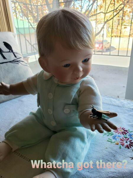 Vintage Ashton Drake Doll. Baby Boy Andrew. Great for the Nursery