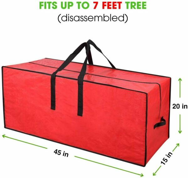 Christmas Tree Storage Bag Heavy Duty Fits Up to 7 Ft. Tall Tree Storage Contain