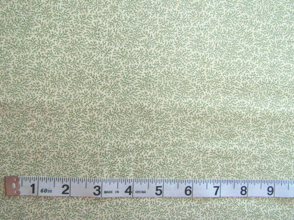 7 8 yd 100% Cotton MODA quot;Collections Mill Book Seriesquot; Howard Marcus Green Vines