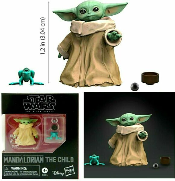 Star Wars Black Series Mandalorian The Child Baby Yoda Grogu 1.1 Inch Figure