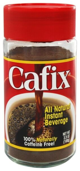 Cafix Instant Beverage Coffee Substitute All Natural 3.5 oz. $7.85