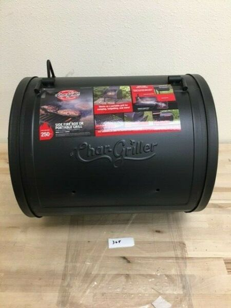 New Portable Char Griller 2 in 1 250 sq in Black Charcoal Grill Model #22424