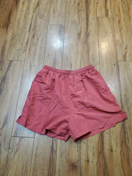 tommy bahama peach w front amp; back pockets drawstring shorts men bottom size m