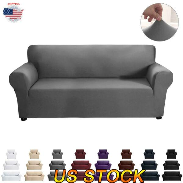 Stretch Slipcover Sofa Cover Cushion Couch Pillow Case Furniture Home Decor US $7.19