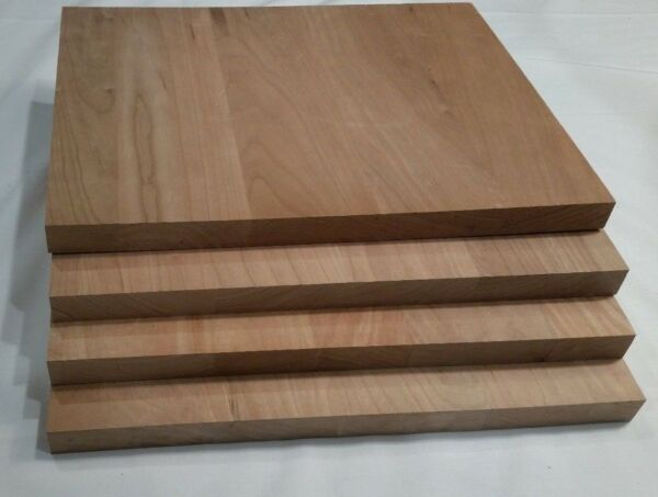 Cherry wood panels 4 great for plaques or other projects 11 x 9 x 3 4