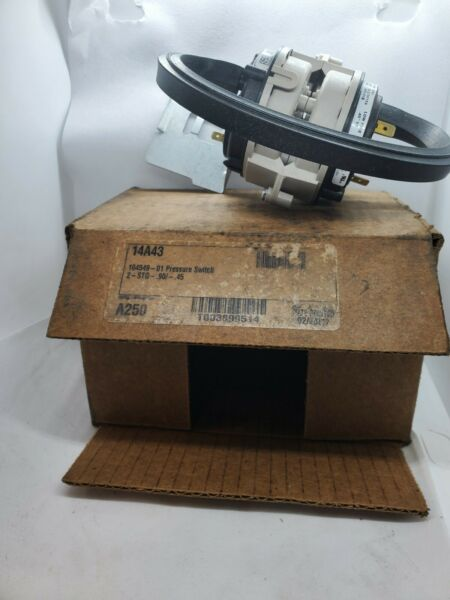 LENNOX Furnace Pressure Switch 14A46 104549 04 2 STAGE FREE SHIPPING $30.00